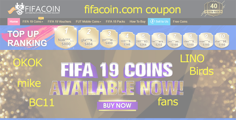 fifacoin coupon