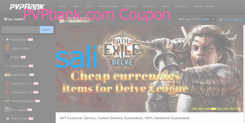 8% Off PVPbank Coupon Code Guild Wars 2 - FFXIV Gil Discount Code