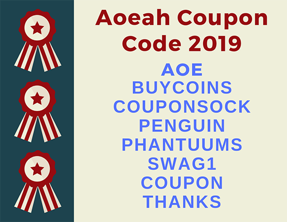 Aoeah Coupon